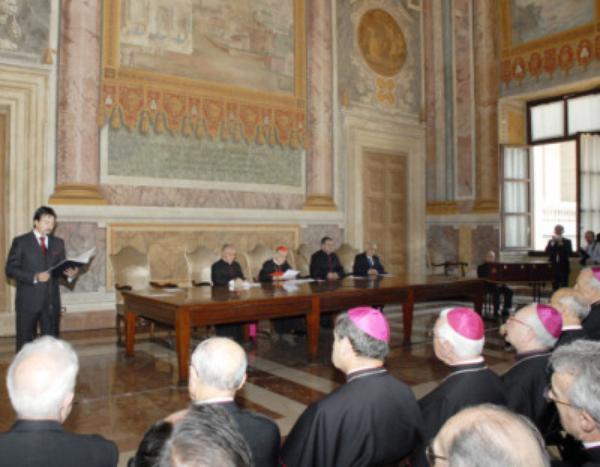 Don Alvaro: Feierliche Sitzung im Lateranpalast