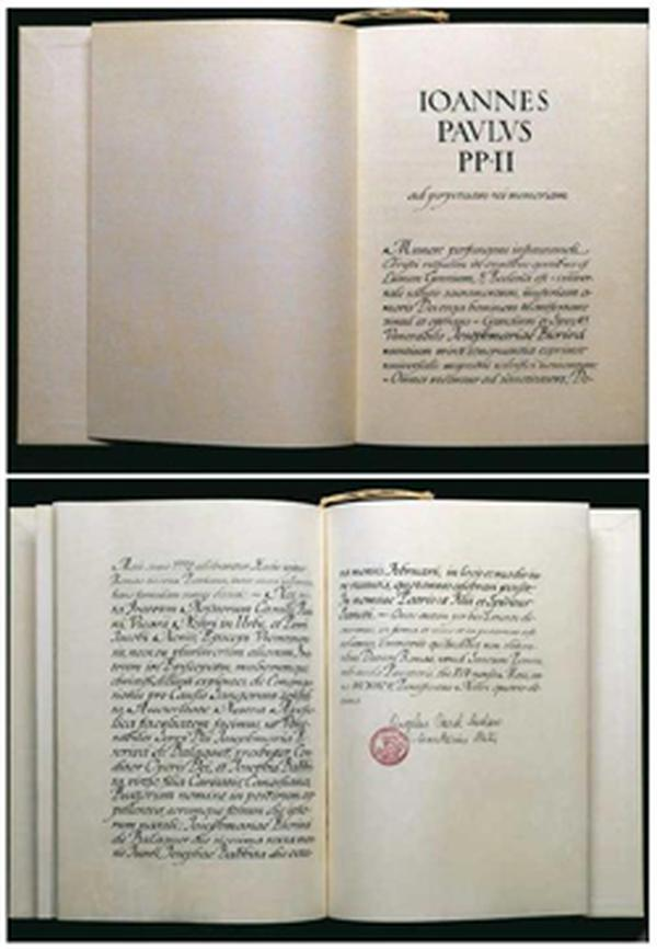 List Apostolski o beatyfikacji