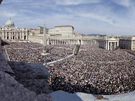 An einem 6. Oktober in Rom - die Heiligsprechung