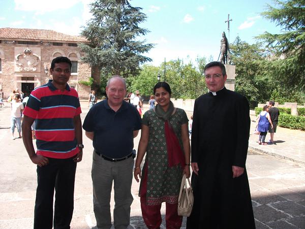 Jafet, Luis Jesús, Anny y D. Francisco