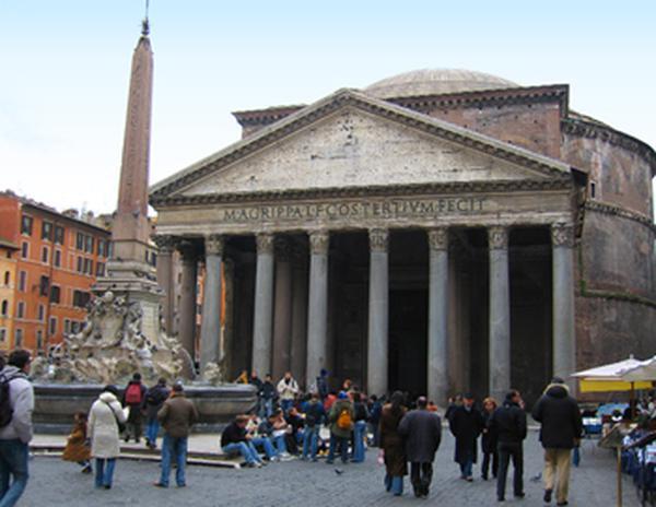 Panteon i Sveta Marija iznad Minerva