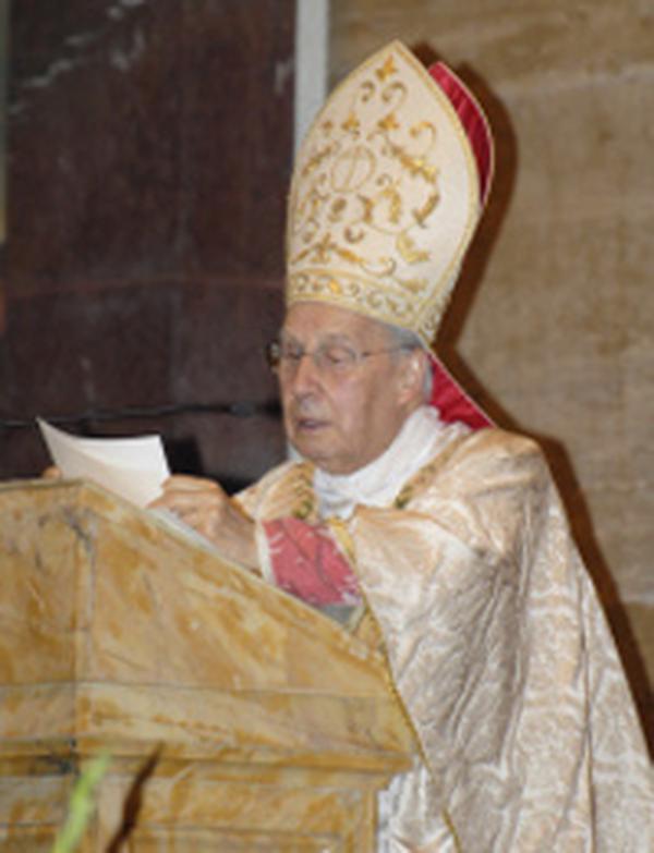 Mons. Javier Echevarría nel primo anniversario della canonizzazione di san Josemaría