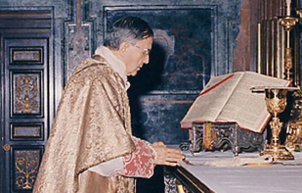 """Die heilige Messe war die Mitte seines Tages"""
