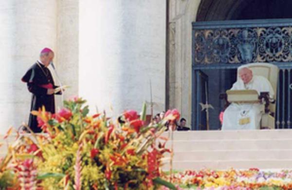 Discursul a doua zi după canonizare