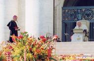 Toespraak van Johannes Paulus II na de mis van dankzegging.