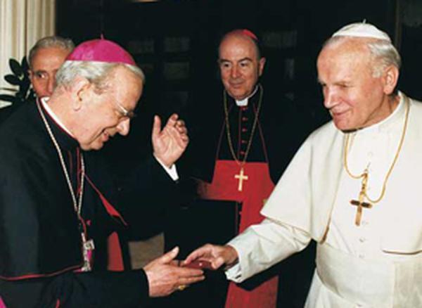 Decretul asupra virtuților eroice ale fondatorului Opus Dei (9.4.1990)