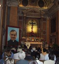 Sigitas Tamkevicius, Erzbischof von Kaunas, Litauen. Rom, 8. Oktober 2002