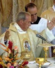 Mgr Xavier Echevarria. Place Saint-Pierre, 7 Octobre 2002