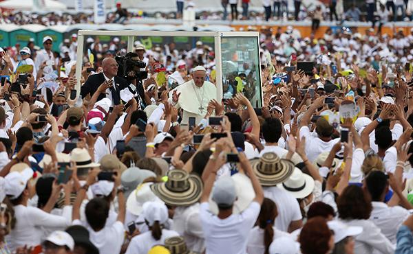 Opus Dei - Los mensajes más impactantes del Papa Francisco en Colombia