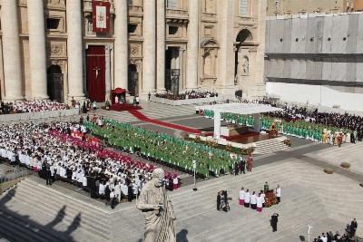 Eucaristia d'obertura de l'Any de la Fe