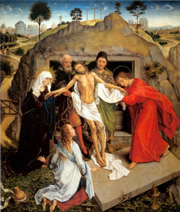 Vida de María (XVI): Sepultura de Cristo