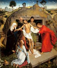 Vita di Maria (XVI): Sepoltura di Cristo
