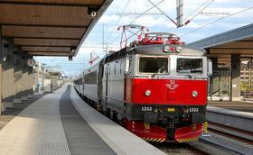 Die Andacht zu Isidoro unter polnischen Eisenbahnern