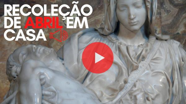 Recoleção de abril em casa em português