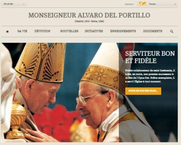 Le Bienheureux Alvaro del Portillo fêté en France