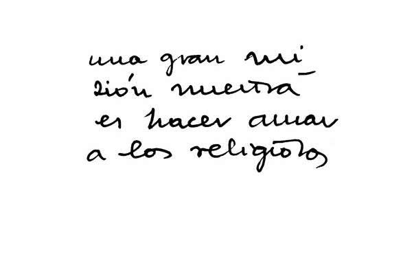 Amar os religiosos