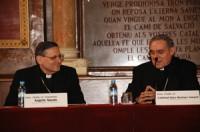 Mons. Angelo Amato i Mons. Lluís Martínez Sistach.