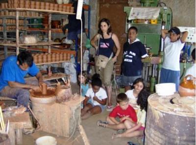 Unha visita cultural durante o campamento Foto: www.amigosdelabarrera.es