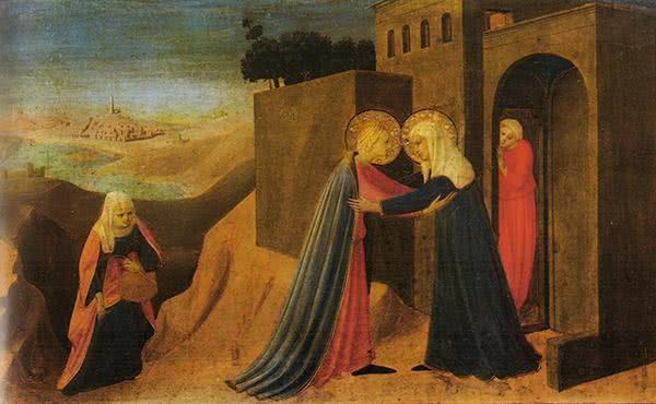 Život Panny Márie (VI): Návšteva Svätej Alžbety