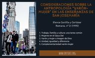 """Consideraciones sobre la antropología """"varón-mujer"""" en las enseñanzas de San Josemaría"""