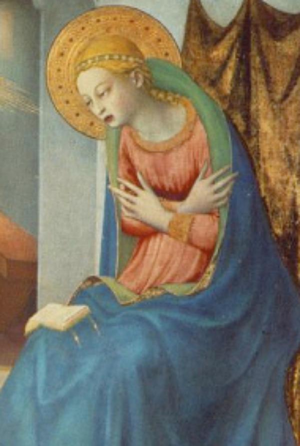 The Annunciation: Magisterium, Saints, Poets