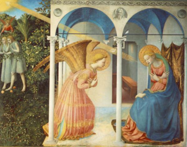Vita di Maria (V): L'annunciazione di Nostra Signora