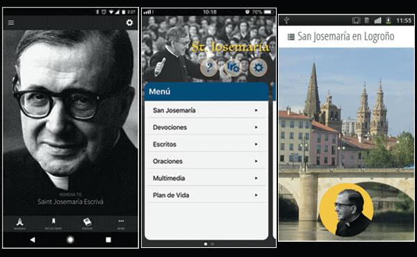 Opus Dei - Algunas aplicaciones sobre san Josemaría