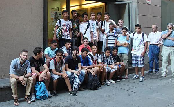 Opus Dei - 15.000 horas al año por la integración social en Barcelona
