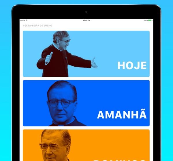 Opus Dei - Uma app grátis em português para rezar diariamente com textos de S. Josemaria