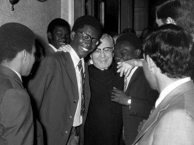 Abril de 1973, San Josemaría en Villa Tevere (Roma)