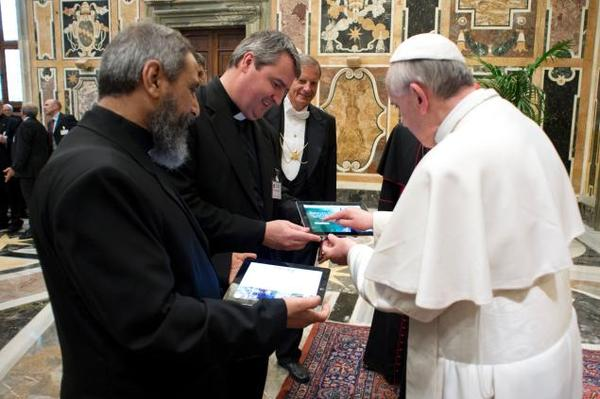 Pāvesta Franciska ieteikumi par internetu un televīziju