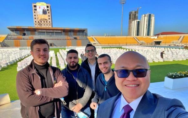Com o Papa Francisco em Erbil (Iraque)