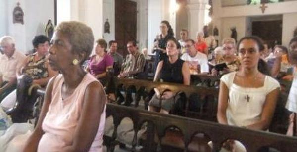 Messe zu Ehren des hl. Josefmaria in Havanna (Kuba)