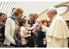 Pápežova audiencia o roku milosrdenstva (27. apríl 2016)