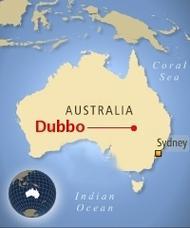 Com os aborígenes de Dubbo