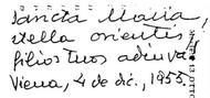 """Trois voyages de saint Josémaria (1949-1955) et l'invocation   """"Stella Orientis"""""""
