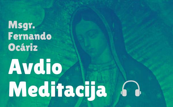 """Prelatova avdio meditacija: """"Božja Mati in naše upanje"""""""