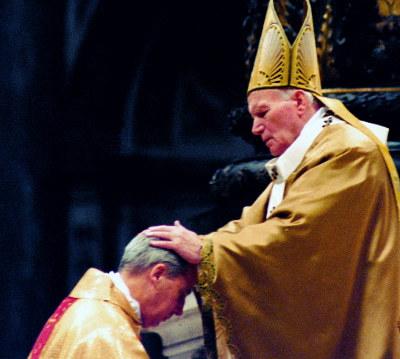 La ordenación episcopal de Mons. Javier Echevarría.