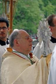 Sacramentsprocessie in Amsterdam