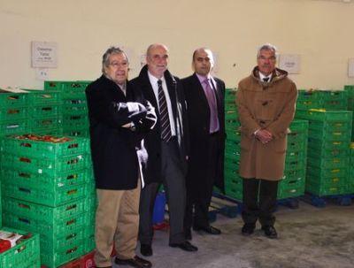 Vicente López Alemany con representantes de la empresa multinacional IFCO SYSTEMS