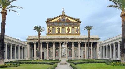 Basílica de São Paulo Extramuros (Roma), centro do Ano Jubilar.