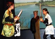 Jongeren van Club Fontenelle voeren Lohengrin van Wagner uit