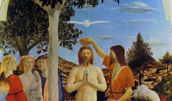 Primo mistero luminoso. Il Battesimo del Signore nel Giordano