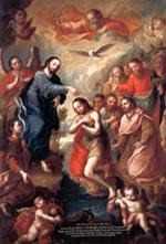 De doop van de Heer.