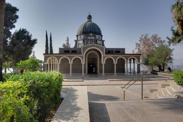 Crkva Blaženstava u gradu Tabgha