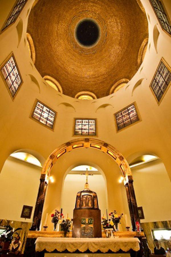 Tabgha, die Kirche der Seligpreisungen