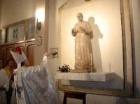 Bendición de la imagen de San Josemaría en San Juan