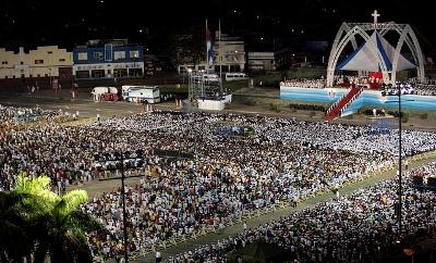 Santa Misa con ocasión del 400° aniversario del hallazgo de la Virgen de la Caridad del Cobre. Foto: Flickr BenedictoCuba