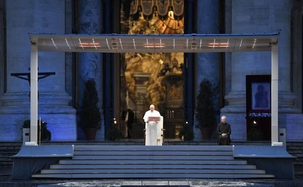 Benedizione Urbi et Orbi: la meditazione di papa Francesco