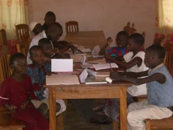 Schulische Betreuung in Benin